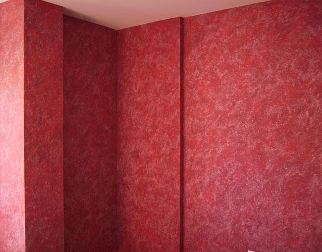 Pin estuco rojo on pinterest for Pared color cereza